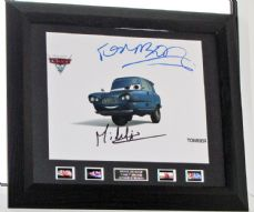"A460MMC MICHAEL MICHELIS - ""TOMBER - CARS"" SIGNED"